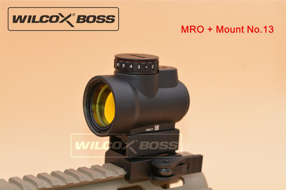 New MRO Style Red Dot Sight Holographic Sight Airsoft Low Mount QD Mount No 13 color