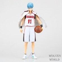 Anime Kuroko's Basketball 25CM Tetsuya Kuroko PVC Action Figure Brinquedos Model Collectible Toy Doll Christmas Gift
