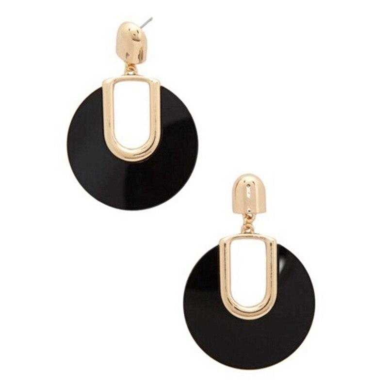 Nové příchozí Brincos náušnice módní jemné elegantní kulaté akrylové náušnice pro ženy módní šarm šperky velkoobchod