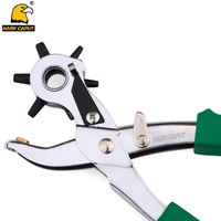 HARK CAPUT Punching Pliers 2 5 3 3 5 4 4 5 5mm Leather Hole Punch
