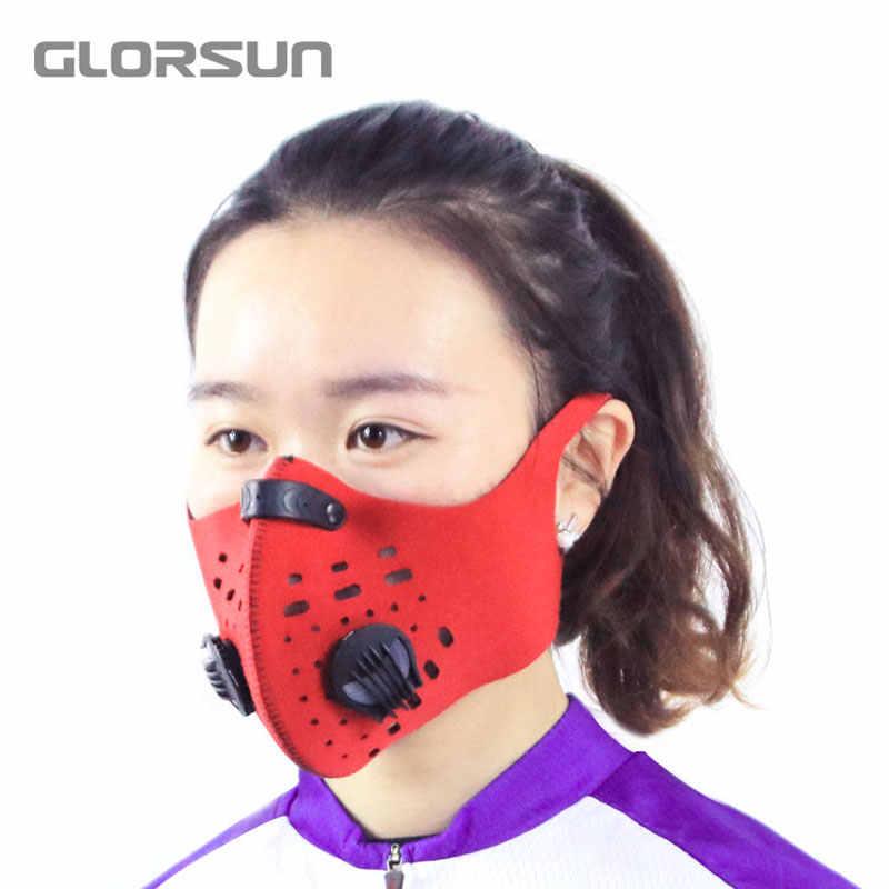 GLORSUN n99 неопрен смога туман мотоцикл езда лица рот маска от пыли pm2.5 хлопок n95 загрязнение воздуха пыльцевая маска
