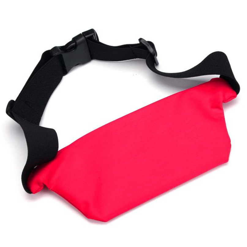 Outdoor Sports Running Waist Bag Utility Gym Fanny Pack Fitness Jogging Belt Bags 5.5 inch Cell Phone Pocket for Men Women #2a (3)