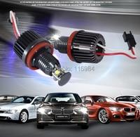 FOR BWM H8 40W LED Angel Eyes Halo Ring Marker Light Bulbs Xenon White 6000K FOR E87 E92 E93 E60 X5 X6(Black Edition)
