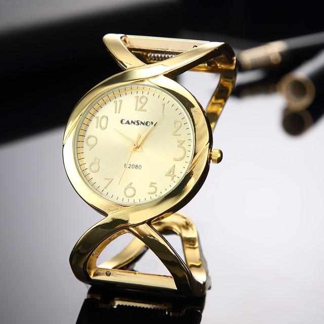 Women Watches Lady Dress Bracelet Watch 2018 New Design Girls Rose Gold Luxury W
