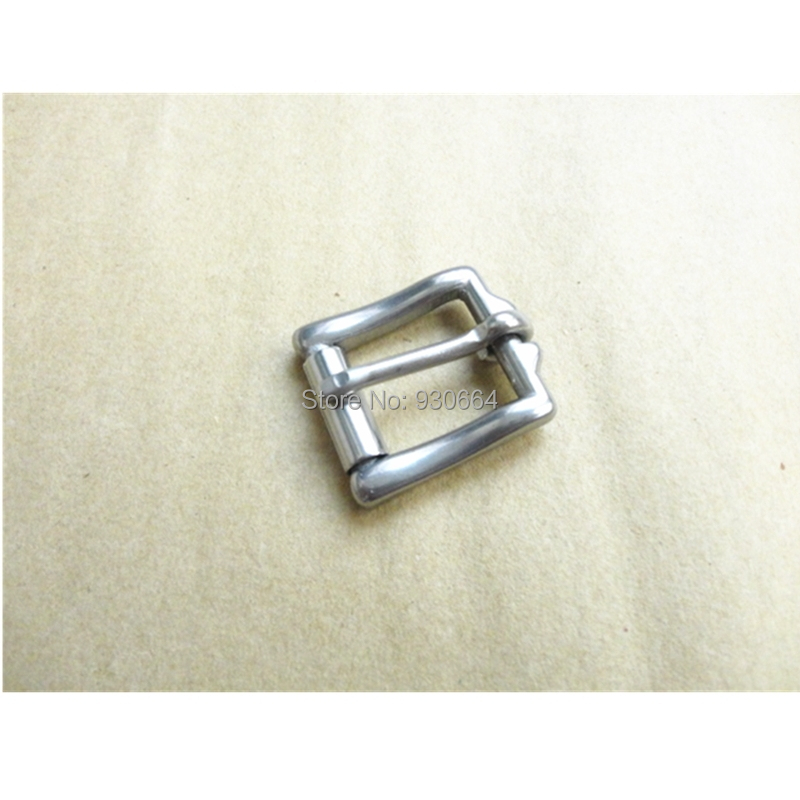 10PCS / Lot 20mm Stainless Steel Belt Buckle With Roller Buckle For Shoes Bag Clothes Accessories Metal Buckle  W015