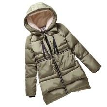 Winter Jacket Women New 2016 Europe Style Fashion Loose Coat female Medium Long Plus Size Down Park Jackets For Women Hot F828