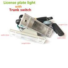 Самые низкие цены авто задний багажник сборки Номерные знаки для мотоциклов выключатель света лампы кнопка для Chevrolet для Cruze DC 12 В