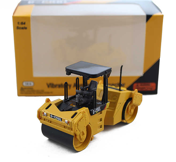 C-COOL 1:64 Vibratory Asphalt Compactor boutique alloy car toys for children kids toys Model original box freeshipping