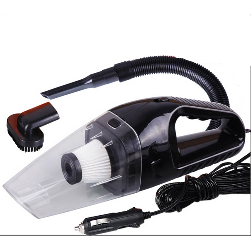 120W Portable Car Vacuum Cleaner Wet And Dry Dual Use Auto Cigarette Lighter Hepa Filter 12V 3 Color