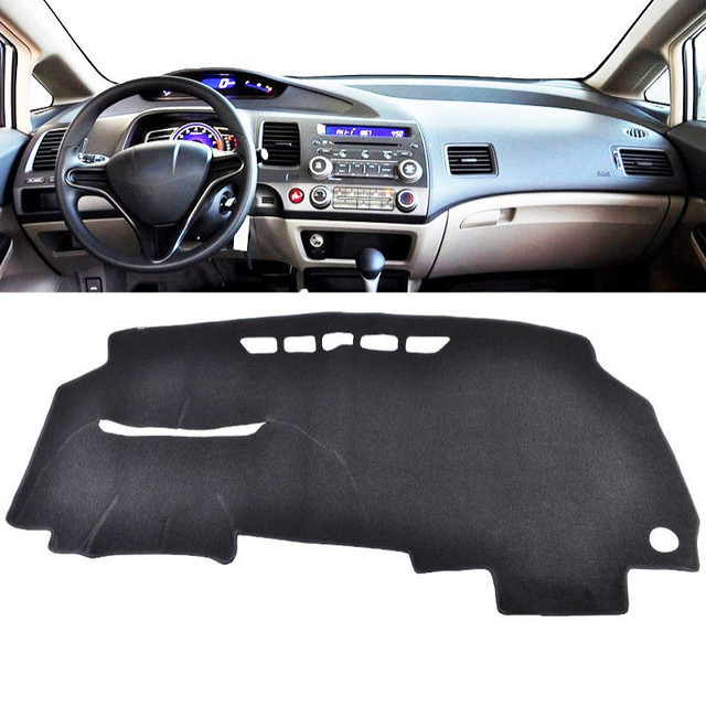 Auto Dashboard Mat Cover Pad Sun Shade Instrument Panel Carpet For