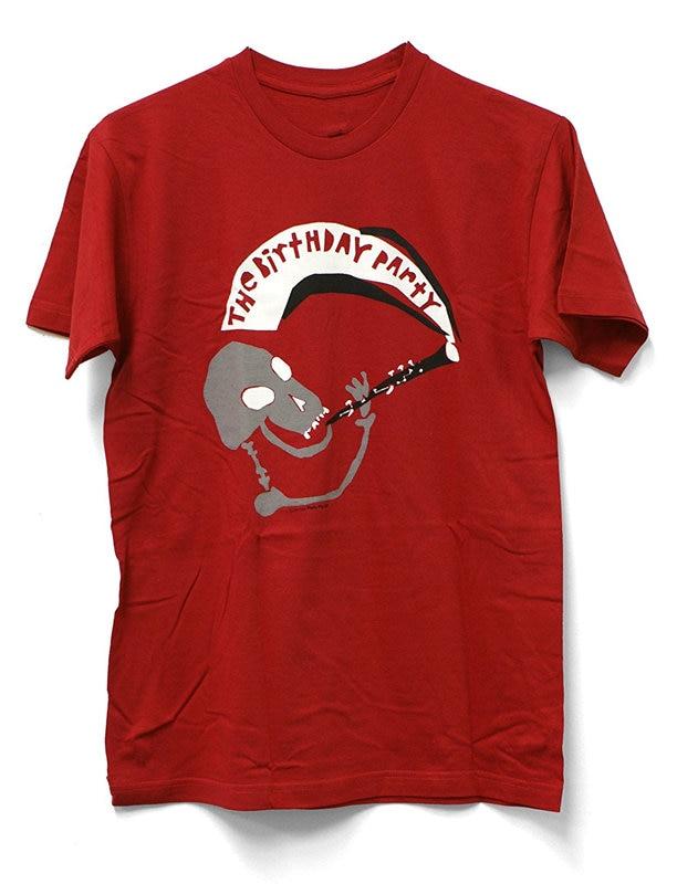 T Shirt Design Shop Short Sleeve Fashion 2018 Crew Neck The Birthday Party Mr. Clarine Tee Shirts For Men