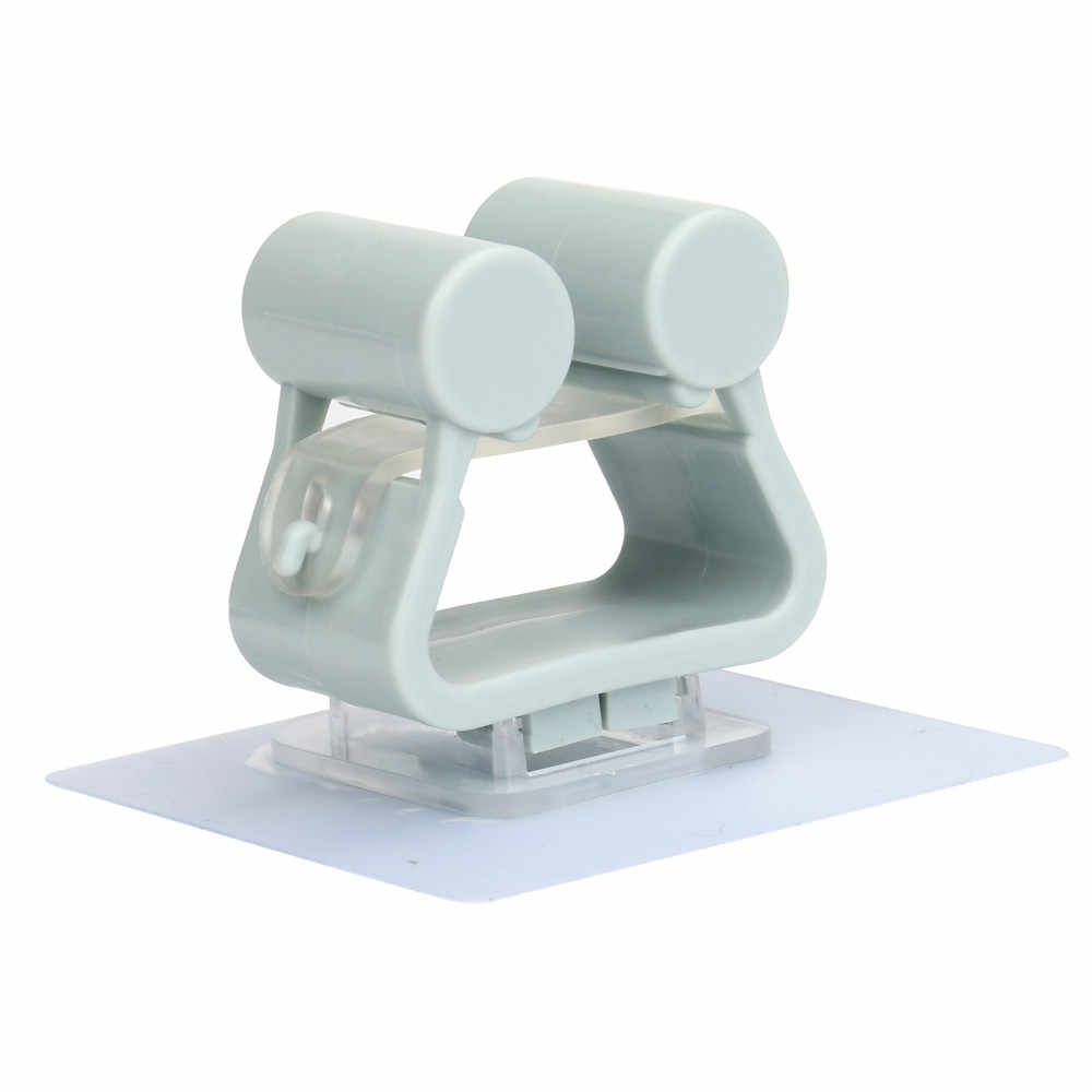 浴室モップモップフックなし追跡ほうきフックモップ棚浴室フック浴室サポートシャワーフックドロップシッピング