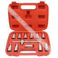 12pcs Oil Drain Plug Key Set Hexagon Socket Kit Nut Adaptor Tool