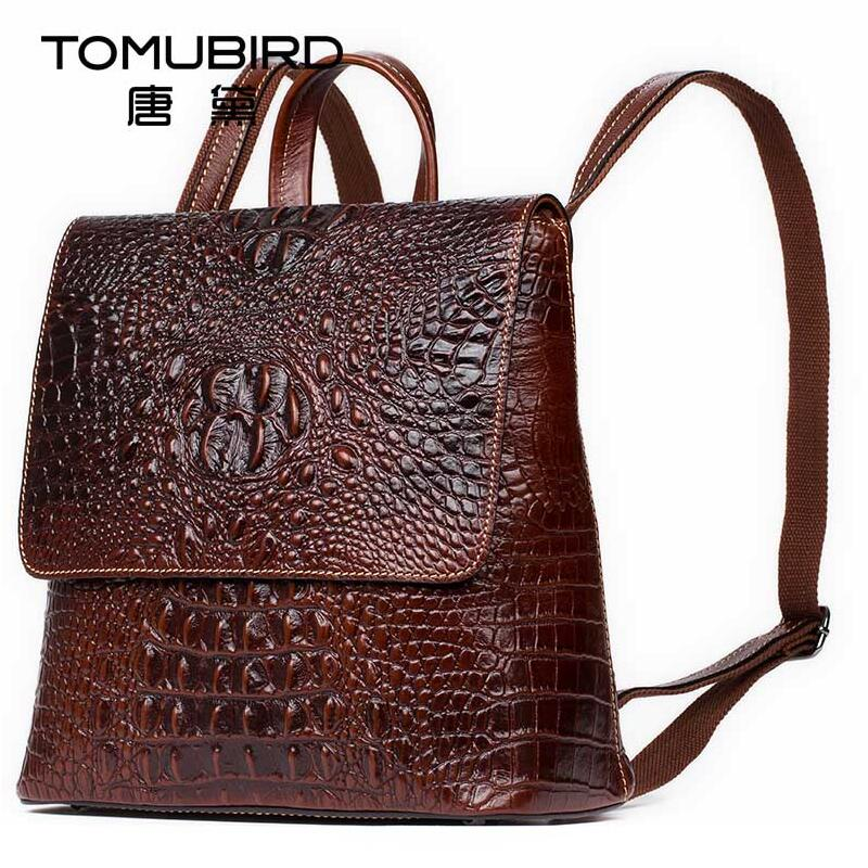 Tomubird brand new women leather bag designer brand quality alligator grain leather backpack fashion women leather backpack nordic modern simple restaurant living room study bedroom decor lights originality personality bar counter lid iron chandelier