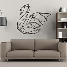 Geometry Goose Wall Stickers Home Decoration Removable Bedroom Living Room Decor Decal Muursticker Accessories