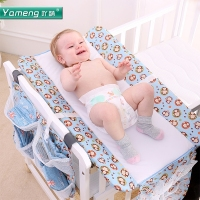 Acrymene Baby Diaper Table Baby Care Table Foldable Cleaning Table Multifunctional Clothes Change Touch Table Convenient