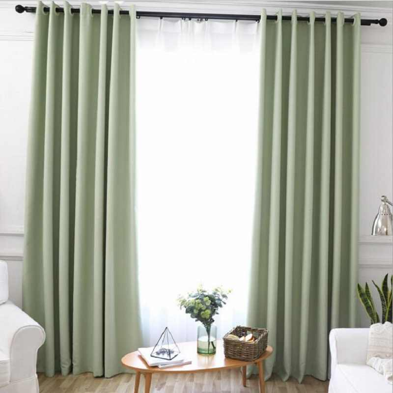 Blackout Curtains for the Bedroom Solid Colors Curtains for the Living Room Window Greey Gold Curtains Blinds Customized