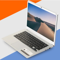 14.1 inch 1366x768P Ultrabook Computer Intel Atom X5 Z8350 2GB RAM 32GB EMMC+320G HDD Windows10 Ultra slim Laptop with WIFI HDMI