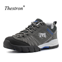 Thestron Mens Outdoor Boots Top Quality Hiking Shoes For Men Winter Men Trekking Shoes Brown Mountain