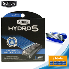 8 blades/lot 2019 Original Schick Genuine Hydro 5 razor blades New Package Best Shaving Replacement for man replacement