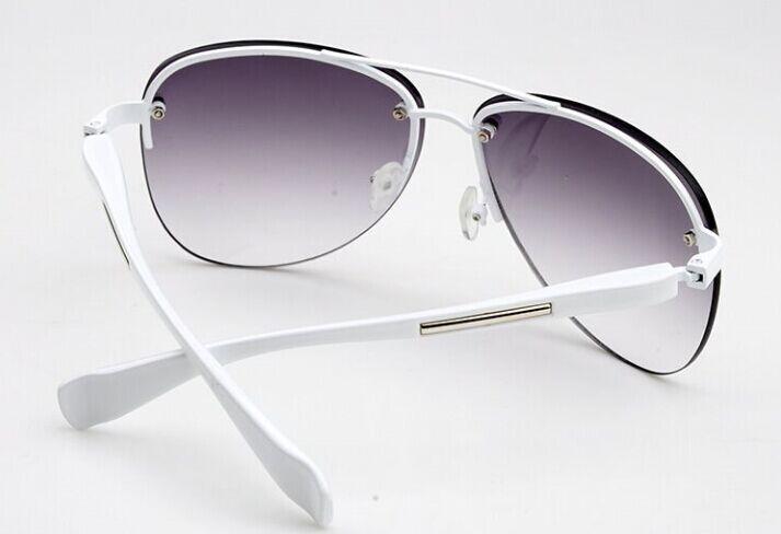 2017 diseñador de moda de metal sin montura gafas de sol mujeres - Accesorios para la ropa - foto 2