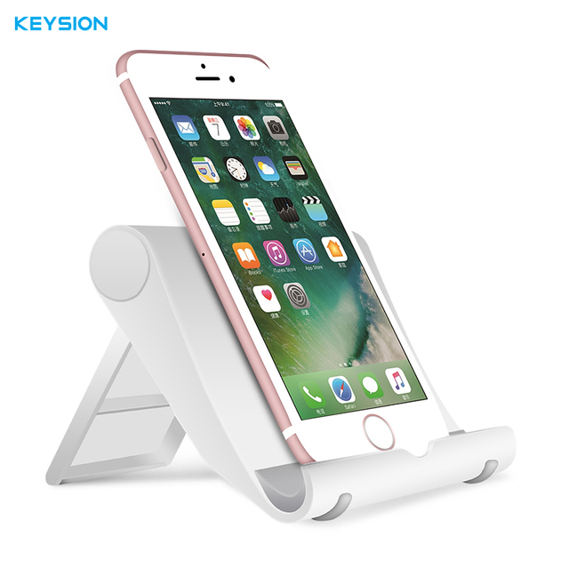 sale retailer 75be4 4dc78 KEYSION Universal Flexible Phone Desk Holder for iPhone X 8 7 6S Samsung S8  Plus Xiaomi Mobile Cellphone Tablet Stand for iPad-in Mobile Phone Holders  ...