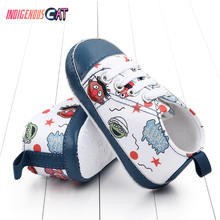 Newborn Shoes Infant Toddler Baby Boy Girl Spring Autumn Soft Bottom Canvas Walkers Newborn0- 24M