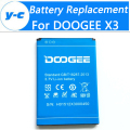 DOOGEE X3 Battery High Quality 100% Original 1800mah backup battery Replacement For DOOGEE X3 MobilePhone Free Shipping