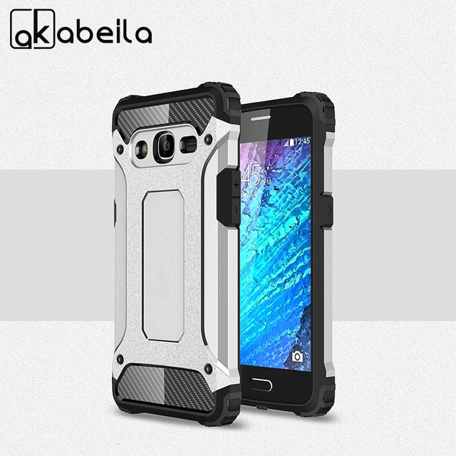 newest 4eaf4 75437 US $2.63 15% OFF|AKABEILA Phone Cases For Samsung Galaxy J2 2016 J2 Pro  2016 Covers J210 SM J210F J210F Housing Cover 2in1 Robot Case Bag Shell-in  ...