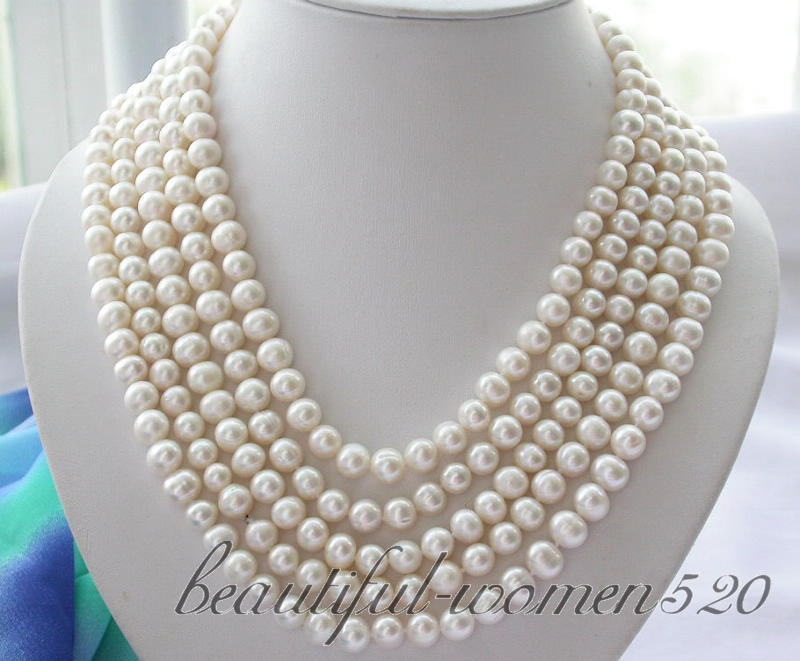 Z3279 Long 100 9mm round white freshwater pearl necklaceZ3279 Long 100 9mm round white freshwater pearl necklace