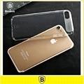 Baseus sky ultra thin crystal clear transparente pc hard case para el iphone 7 7 plus teléfono volver cubierta protectora shell