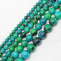 "Wholesale 3-20mm Chrysocolla Round Loose Beads 15""/38cm Beads For DIY Jewelry making ,We provide mixed wholesale for all items!"