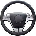 Couro Artificial preto Tampa Da Roda de Direcção Do Carro para Mazda 6 2009