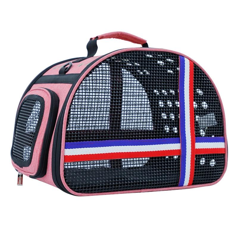 Portable pet bag travel cat bag porous pet bag the traveler cat backpack cat backpack space cat bag carrier kitten