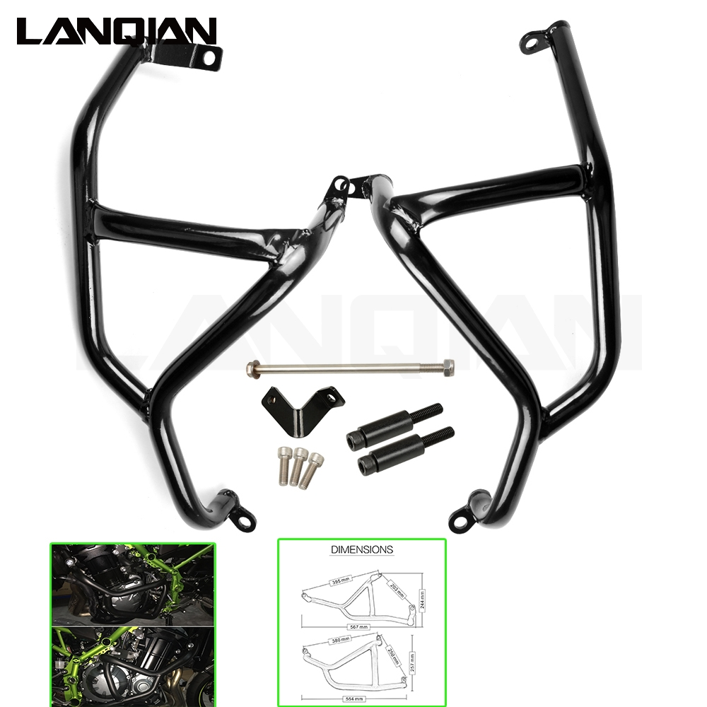 motorcycle Engine Guard Frame Protection Engine Guard Frame Protection/Crash Bar For Kawasaki Z900 2017 Z 900 for kawasaki z900 2017 z 900 crash bar for kawasaki z900 2017 motorcycle accessories engine guard frame protection moto
