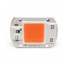1pcs Hydroponice AC 220V 20w 30w 50w led grow chip full spectrum 380nm-840nm for indoor light