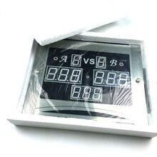 Снукер стол 147 электронное табло+ 1 шт. Беспроводной бассейн дистанционное управление комната/клуб бассейн Электрический табло Китай