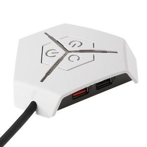 Image 3 - Водонепроницаемый корпус для настольного ПК с двумя USB портами, кнопка питания, переключатель с поддержкой PCI соединения