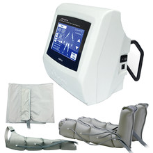 5 ''Touch Screen Air Pressotherapy Machine Air wave pressure therapy Body Weight Loss Lymphatic Massage Detox Beauty machine