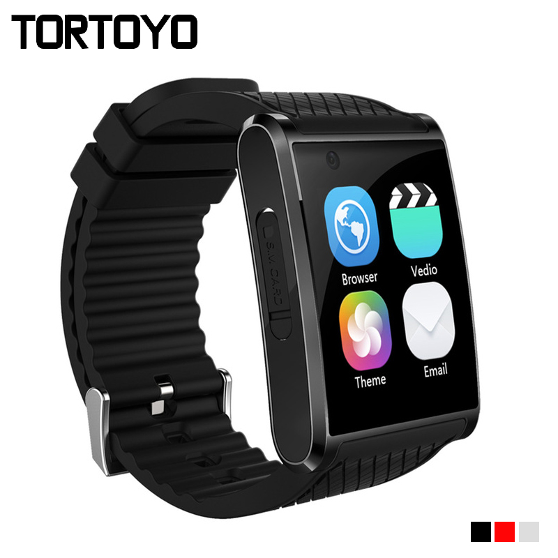 TORTOYO Android 5.1 OS Smartwatch X11 Smart Watch 512MB+4GB MTK6580 Pedometer 5.0MP HD Camera 3G WIFI GPS SOS Sports Wristwatch h1 smart watch android 4 4 os smartwatch mtk6572 512mb 4gb rom gps sim 3g heart rate monitor camera waterproof sports wristwatch