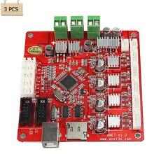 3 Pcs Anet 3D Printer part Control Motherboard V1.0 Printer Control Reprap Mendel Prusa