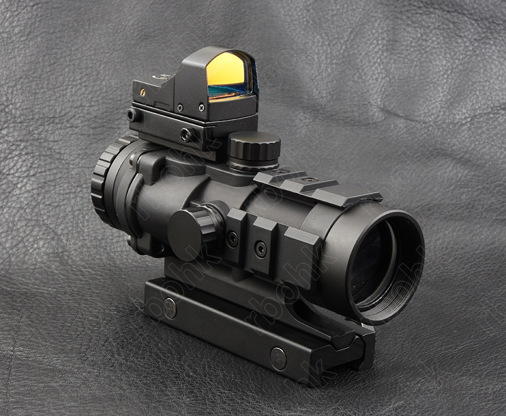 Tactical 3x32 rifle scope and 1x red dot sight scope for picatinny rail fir AR 15 AK 47 M7368 M7830 22mm rail 1x 33mm red dot rifle scope 1 x cr2032