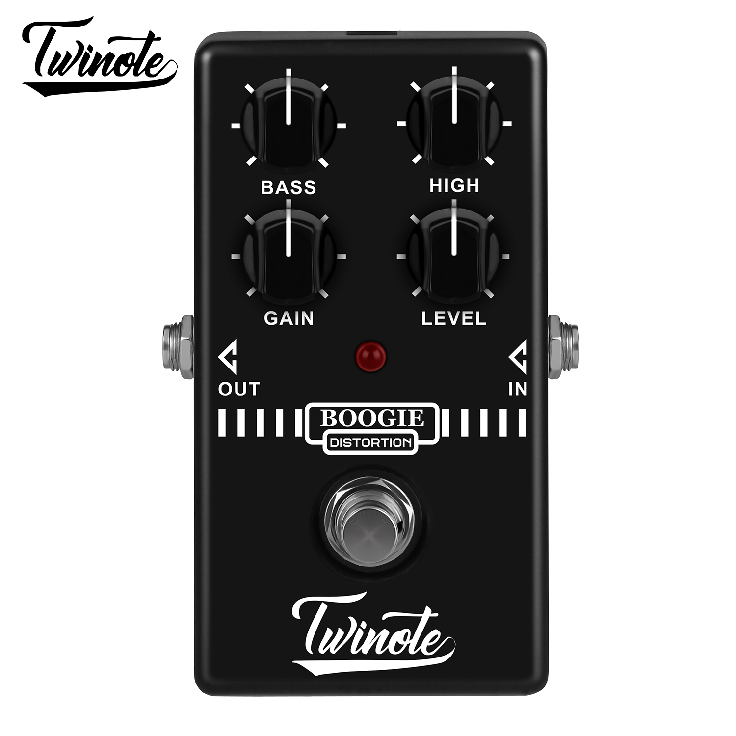Twinote Boogie Dist Electric Guitar Effects Pedal AMP Simulator Guitar Accessories Old School Distortion Tone Stompbox