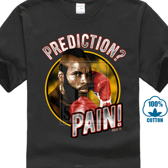 b122e4595457 Rocky 3 Clubber Lang Prediction Pain Licensed Adult T Shirt Great Movie