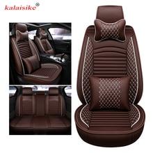 Kalaisike кожа Универсальный Авто Чехлы для Great Wall все модели Tengyi M4 C30 M2 C50 парение H2 H5 H7 H8 H6 H1 Тюнинг автомобилей