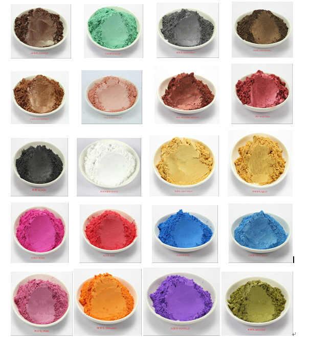 100 גרם בריא diy עבור צבע סבון סבון צבען אבקה נציץ מינרלים טבעיים צלליות איפור אבקת סבון טיפוח עור חינם משלוח