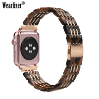 Stainless Steel Strap for Apple Watch Band Series 3/2/1 38mm 42mm Metal Sport Watchband for iwatch series 4 40mm 44mm