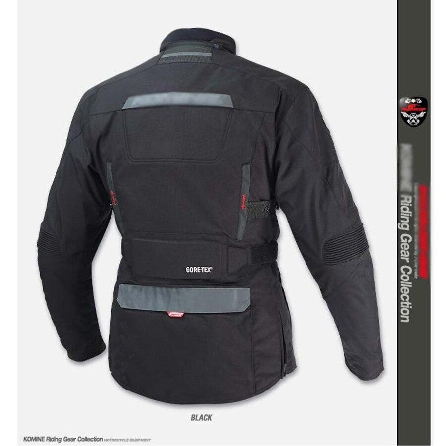 Livraison gratuite 1 set Motocross veste Moto coupe-vent imperméable garder au chaud hors route vêtements Moto costumes Moto veste et pantalon - 3