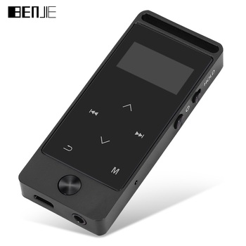Original BENJIE MP3 Player Touch Keys MP3 S5 with Sport Armband Waterproof Pouch Earphone FM 8GB lossless HiFi MP3 Music player