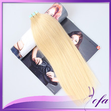8a tape in tissage premium extensions thick tape in hair extensions straight double drawn tape hair extensions blonde virgin